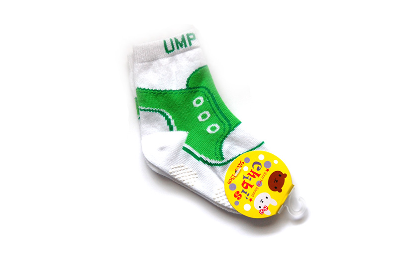 """Trainer Style """"Umpette"""" Non-Skid Socks 